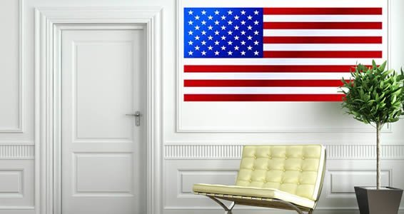 Flags of the World wall canvas