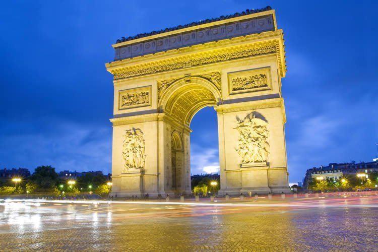 Arc de triomphe wall murals dezign with a z for Arc de triomphe wall mural