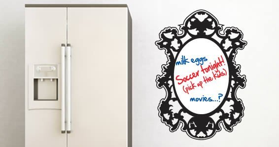 Draw my Reflection whiteboard decals