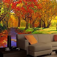Fall Leaves wall paper