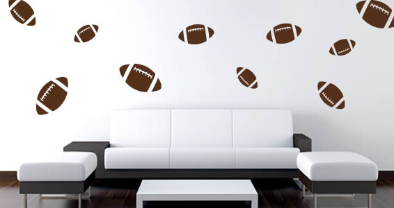 Football wall stickers