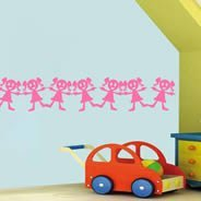 My Funny girl wall decals