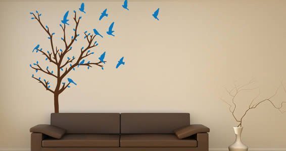 Make your own Tree wall decal