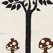 Growth Chart tree chalkboard decal