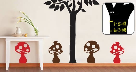 Giant chalkboard wall decal high def pictures