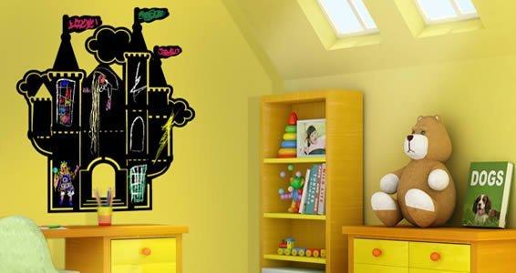 My Castle chalkboard wall stickers