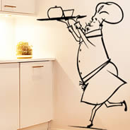 My Funny Chef wall stickers
