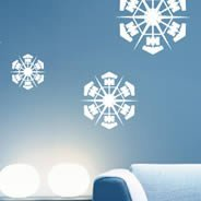 Snowflakes Pack vinyl wall decals