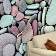 Stones wall papers