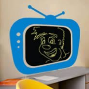 Chalk TV! chalkboard stickers for walls