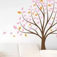 Tranquility tree wall decals