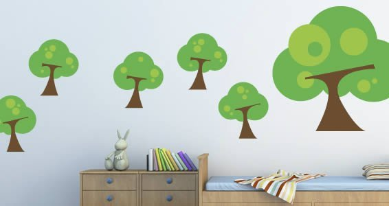 Tree Frog wall decals