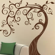 Fairy Tree wall decals