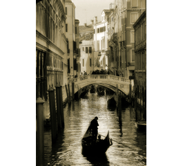 Romantic Venice see through  window decals