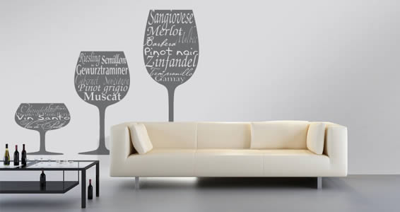 Wine Festival Wall Decals