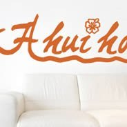 Ahuihou wall decals