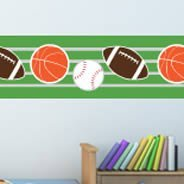 All Sport border wall decal