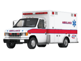 Ambulance wall decals
