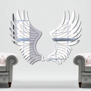 Angel Wings wall mirrors