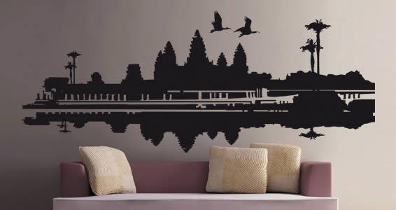 Angkor wall stick ons