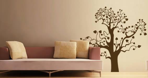 Treepix wall decal