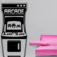 Geek Arcade wall stickers