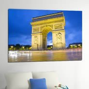 Arc de Triomphe photo on canvas