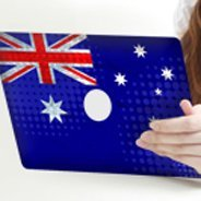 Australian Flag iPad decals skin