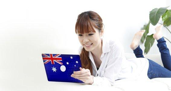 Australian Flag iPad decals skin