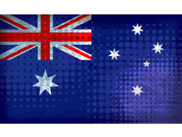 Australian Flag skin for laptop