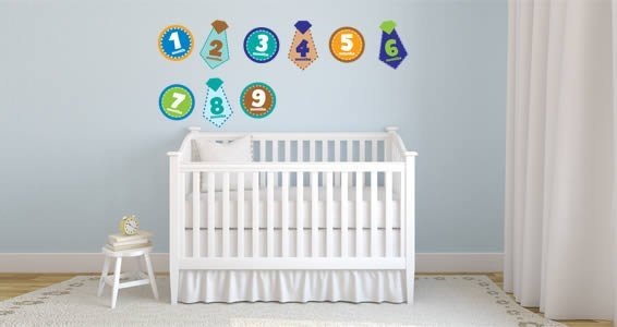 Baby Boy Monthly pack decal
