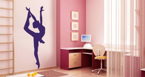 Ballet Dancer wall stickers