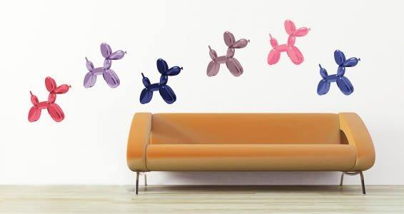... Balloon Dogs Modern Wall Decals Part 85