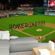 Baseball Ballpark Dry Erase