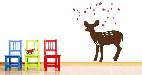 Magic Bambi wall tatoos