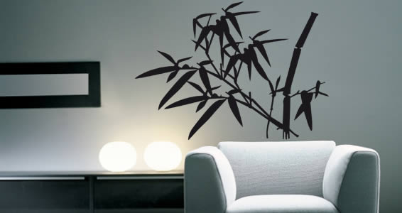 My Bamboos wall decals