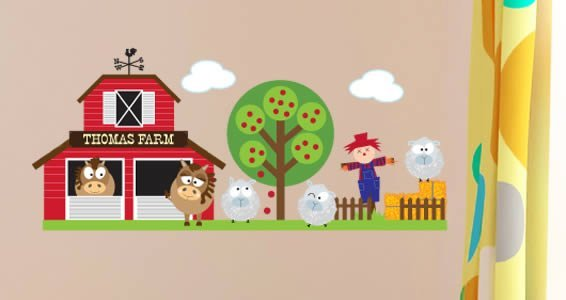 Barn Friends custom pack decals
