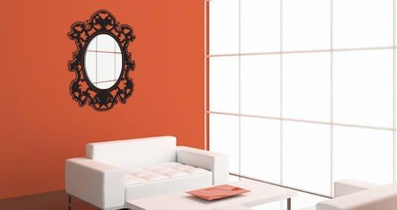 Venitian acrylic miror and vinyl