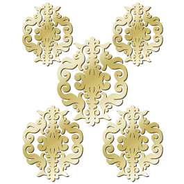 Baroque damask resin mirrors dezign with a z for Plastic baroque mirror