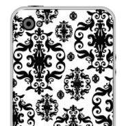 Baroque iPhone decals skin