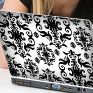 Baroque skins for laptop