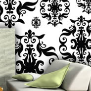 Baroque wall mural