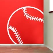 Baseball Line wall decals