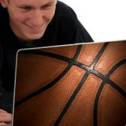 Basketball laptop decals skin