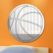 Basketball acrylic mirror
