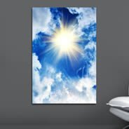 Beautiful Sky wall canvas
