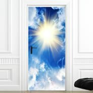 Sun Sky Dry Erase Furniture Skin Decal
