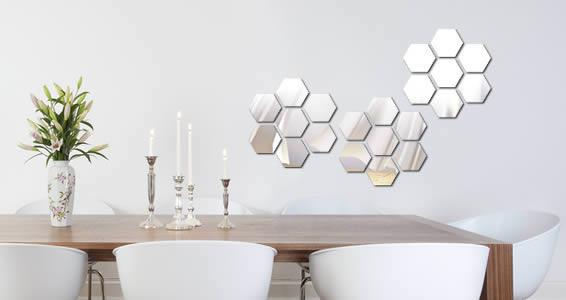 Beehive acrylic mirror