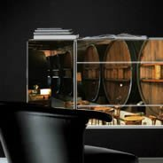 Winery Dry Erase Sticker Furniture Skin