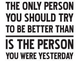 Better Person Wall Quote Decals Dezign With A Z